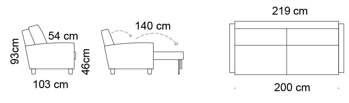 Unico-Venla-mittakuvat