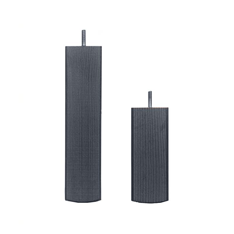 Kantikas, 55 x 140–300 mm, musta