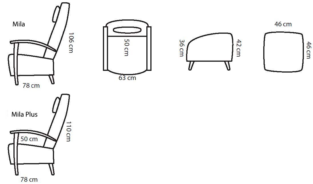 Mila-nojatuoli-mittakuva